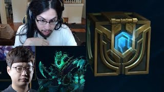 Imaqtpie Opening Hextech Chests | Mata with Insane Thresh Play - LoL Funny Stream Moments #227