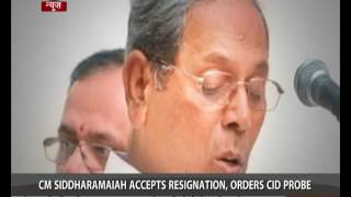 Karnataka sex CD scandal : Minister quits