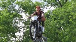 Circus Una Motorcycle Thrill Show sarkas xxxx