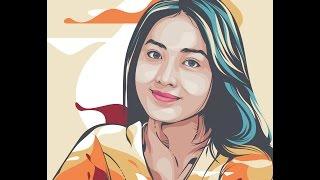 BELAJAR VECTOR - tutorial line art Adobe Illustrator CS6