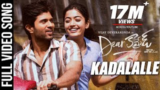 Kadalalle Video Song   Dear Comrade Telugu   Vijay Deverakonda   Rashmika   Bharat Kamma
