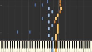 Boku No Kokoro Wo Tsukutte Yo (Ken Hirai) - Synthesia piano tutorial