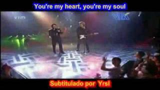 Modern Talking - You're my heart, you're my soul  (SUBTITULADO ESPAÑOL INGLES 9