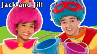 Jack and Jill and More | PLAYGROUND FUN | Kids Nursery Rhymes | Baby Songs from Mother Goose Club!
