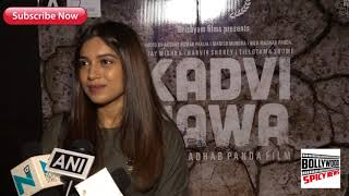 Bhumi Pednekar At Screening Of Film Kadavi Hawa