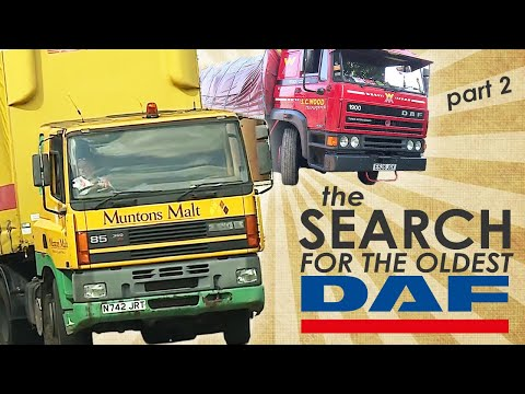 DAF Trucks UK | Going the Distance - The Search For The Oldest DAFs (Part 2) | Feature Video
