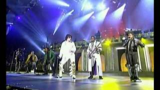Michael Jackson & The Jacksons live 2001 30th anniversary concert
