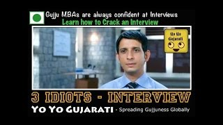 Yo Yo Gujarati - 3 Idiots Job Interview - Brahma Raval