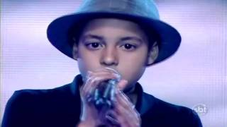 David Air sings Earth Song - The X Factor Brazil (Young Talents 2010)