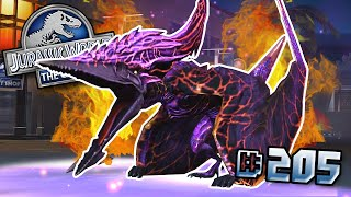 WORLD BOSS VALKYRIE 77 STRONGEST DINOSAUR!... maybe || Jurassic World - The Game - Ep205 HD
