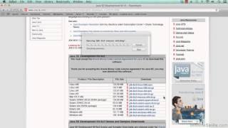 Eclipse Java IDE Tutorial | Install Java 8 for Mac