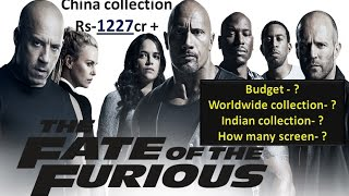 The Fate Of The Furious Movie Full Box office collection in Hindi & Indian collection 2017