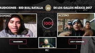 AUDICIONES - RED BULL BATALLA DE LOS GALLOS MÉXICO 2017