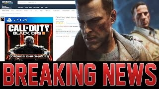 DLC 5 ZOMBIES CHRONICLES RELEASE DATE LEAKED BY AMAZON - MY CONCERNS!
