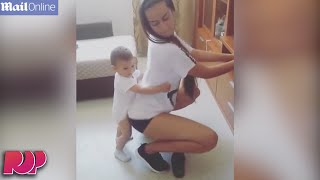 Woman Twerks On Toddler In Video And OMG INTERNET OUTRAGED!!