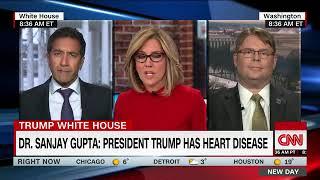 BREACKING Dr. Gupta: Trump a heart disease risk