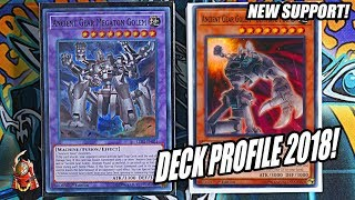 *YUGIOH* BEST! ANCIENT GEAR OTK DECK PROFILE! FEBRUARY 2018 BANLIST + NEW SUPPORT! NEW FUSION!