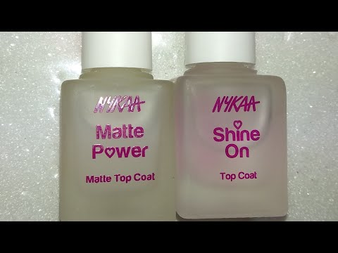 Xxx Mp4 NEW Nykaa Com Nail Care Shine On Matte Power Top Coat Review Demo 3gp Sex