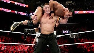 John Cena vs. Alberto Del Rio - United States Championship Match: Raw, December 28, 2015