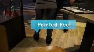 Pointed Feet :: Learn Body Language :: GoBodyLanguage.com