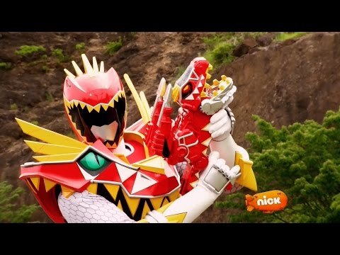 Power Rangers Dino Super Charge - Roar of the Red Ranger - T-Rex Super Charge Red Ranger's Fight