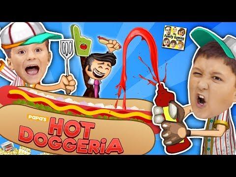 Xxx Mp4 PAPA S HOT DOGGERIA 🌭 FGTEEV LAST VIDEO Of 2017 Mike Chase Hilarious Gameplay W Doofy Customers 3gp Sex