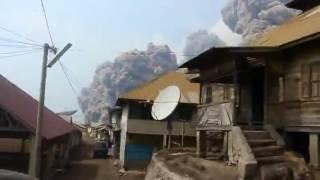 Video Amatir Detik-Detik Sinabung Meletus