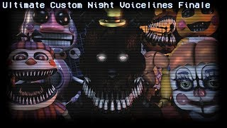 Ultimate Custom Night All Voice Lines For Animatronics Animated Part 4 SFM