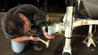 Installing a  Fulton® Fold-Away Bolt-on Hinge Kit - HDPB Series