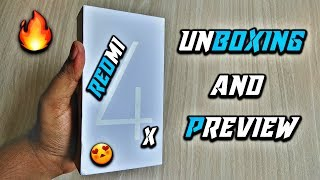 Redmi 4 Unboxing and Preview - 2GB RAM | 16GB ROM | Black
