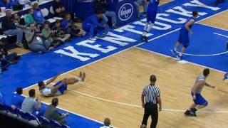 MBB: Blue and White Scrimmage Highlights