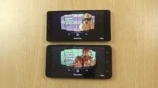 Lenovo K3 Note VS Huawei Honor 4X Gaming Comparison - GTA San Andreas!