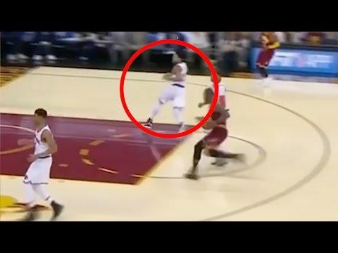 LeBron James Makes Derrick Rose RUN AWAY on Defense During Fastbreak