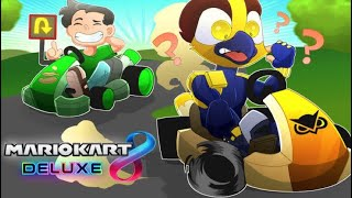 Vanoss first and last time playin Mario Kart! (Mario Kart 8 Deluxe Funny Moments)