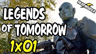 DC's Legends Of Tomorrow Episode 1 REACTION and REVIEW