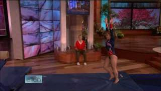 Shawn Johnson on The Ellen Show - 9/9/08 (PART 2 of 2)