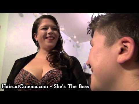 Xxx Mp4 HaircutCinema Com She S The Boss A Lesbian Haircut 3gp Sex