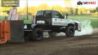 MTTP Truck Pulls At Marion MI - Hot Deisel Pickup Class June 2016