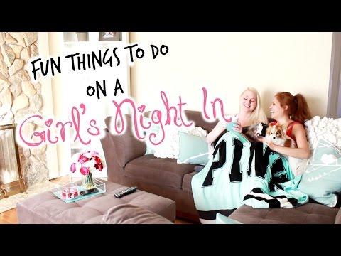 Fun Things To Do On A Girl's Night In! | Belinda Selene
