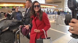 Nina Dobrev Gushes About Meryl Streep Speech, Keeps 'Vampire Diaries' Return Secret At LAX