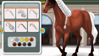 Barbie´s Horse -  make Up Celebrity Games for sweet girls - mary.com