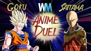 Anime Duel: Goku Vs Saitama