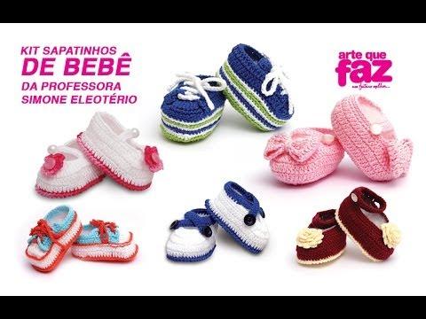 Kit Sapatinhos de Bebê Professora Simone