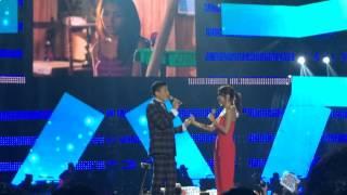 Daniel Padilla sang Pangako Sa'yo to Kath Bernardo