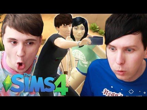 DIL'S HONEYMOON - Dan and Phil Play: Sims 4 #30