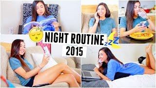 Night Routine 2015 | Jeanine Amapola