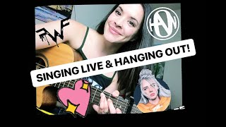 Singing Live & Hanging out!! Learning Billie Eilish, Hanson, & Weezer cover songs! PLUS an original!