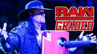 WWE Raw: GRADED (17 September)   The Undertaker Has A Message