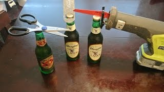 50 Ways to Open a Beer Bottle Part 1