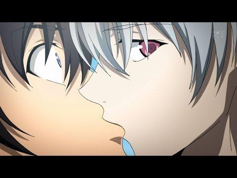 Mirai Nikki - Akise kisses Yuki